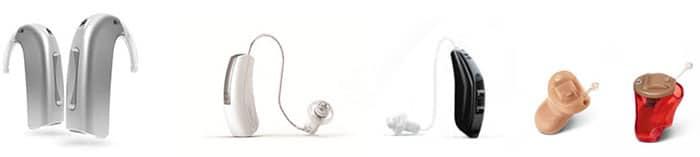 Tipos y Gamas de audífonos - RV ALFA